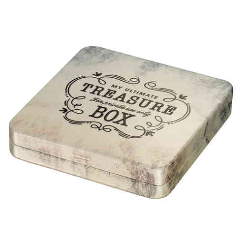 Treasure tin box