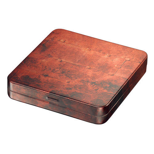 Rustical tin box
