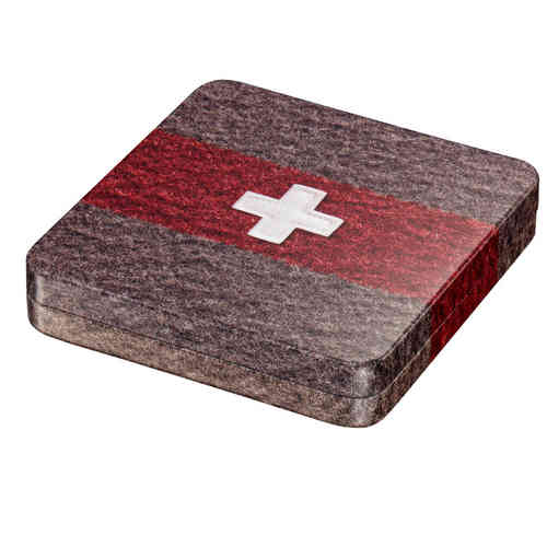 Swiss Army blanket tin box