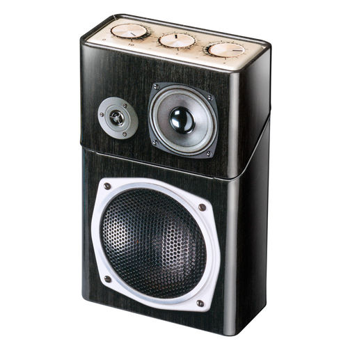 Speakers tin box