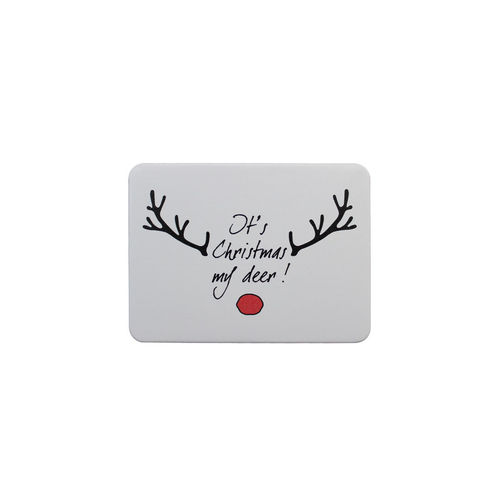 Metal magnet deer